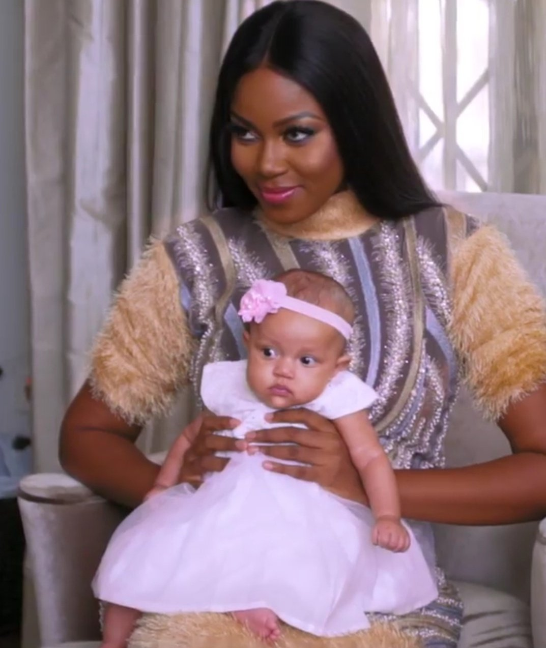 Yvonne Nelson Shares Cute Photo Of Her Breastfeeding Her Daughter On Social Media