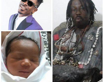 Nana Kweku Bonsam Names Daughter After Shatta Wale