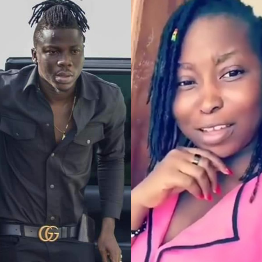 Image result for stonebwoy and sister