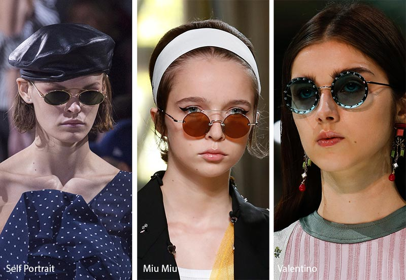 456cc2d77679 We saw a few interesting takes on this iconic look as part of summer 2018  sunglasses trends.