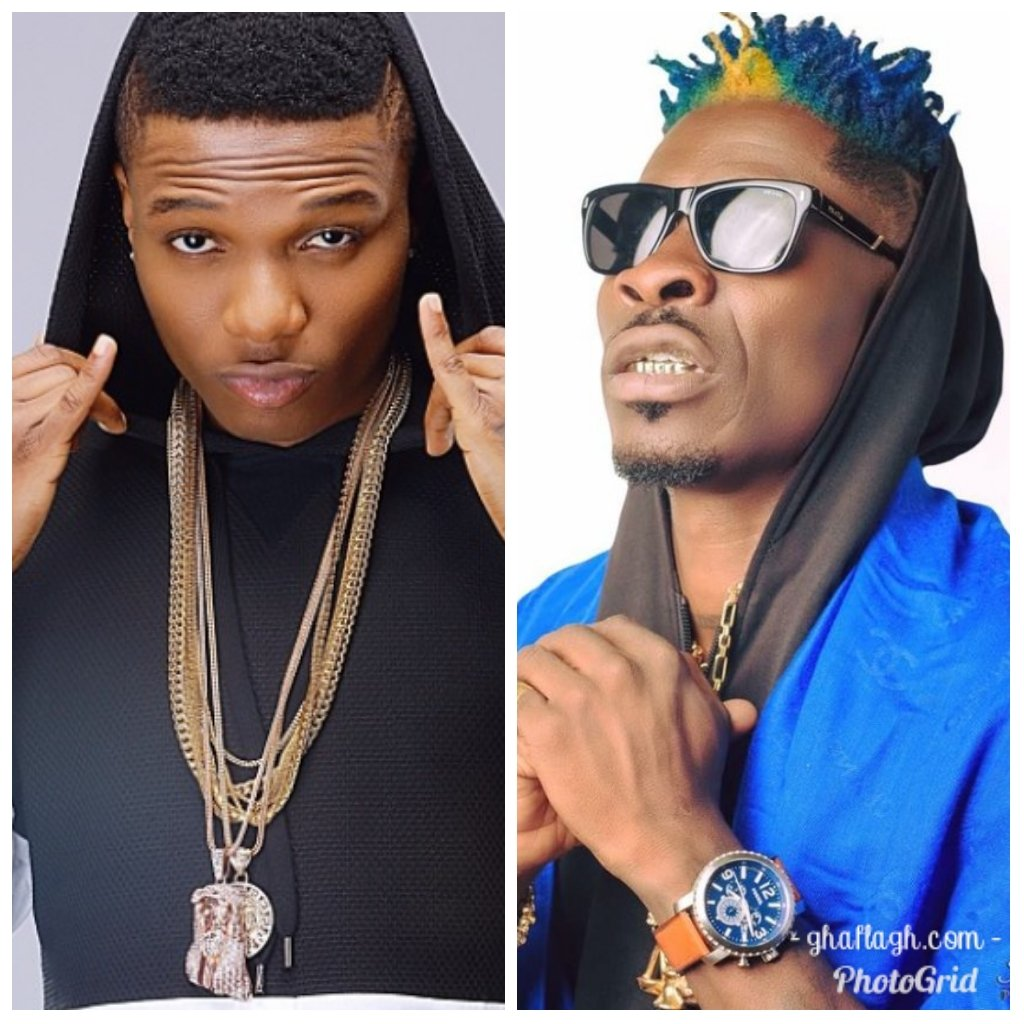Wizkid Sends Shout Out To Shatta Wale