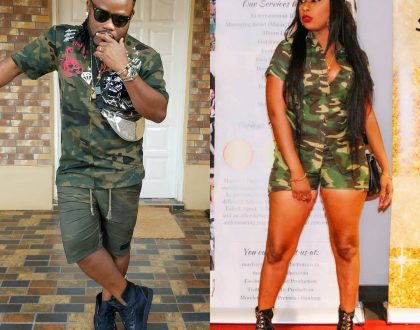Photos: Selly Galley And Husband, Big J Battle For Supremacy In Camo Wears