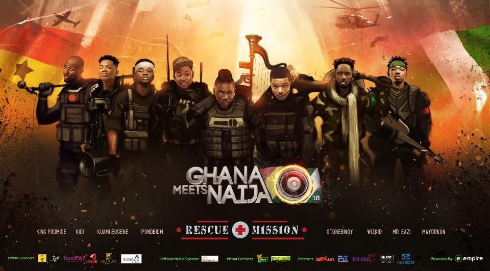 Full Artist Line-Up For 2018 Ghana Meets Naija Revealed