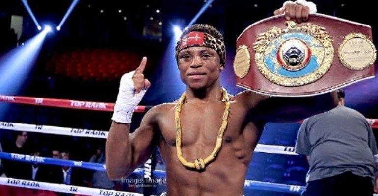 World Boxing Champion Isaac Dogboe Is Sports Personality Of The Year At 43rd SWAG Awards