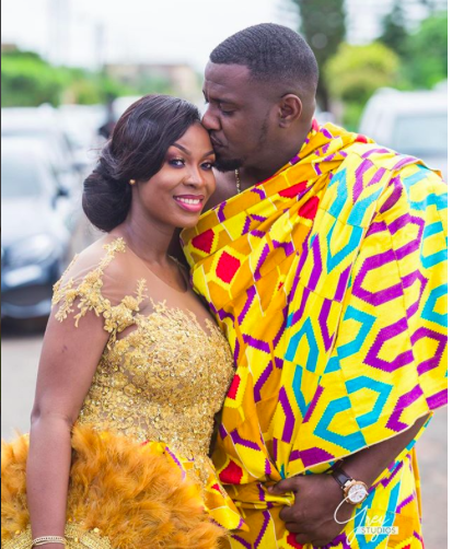 Ghanaian Traditional Wedding: Photos Of John Dumelo And Bride At Traditional Wedding