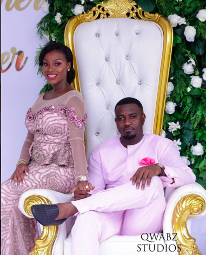 Photos Of John Dumelo And Bride At Traditional Wedding