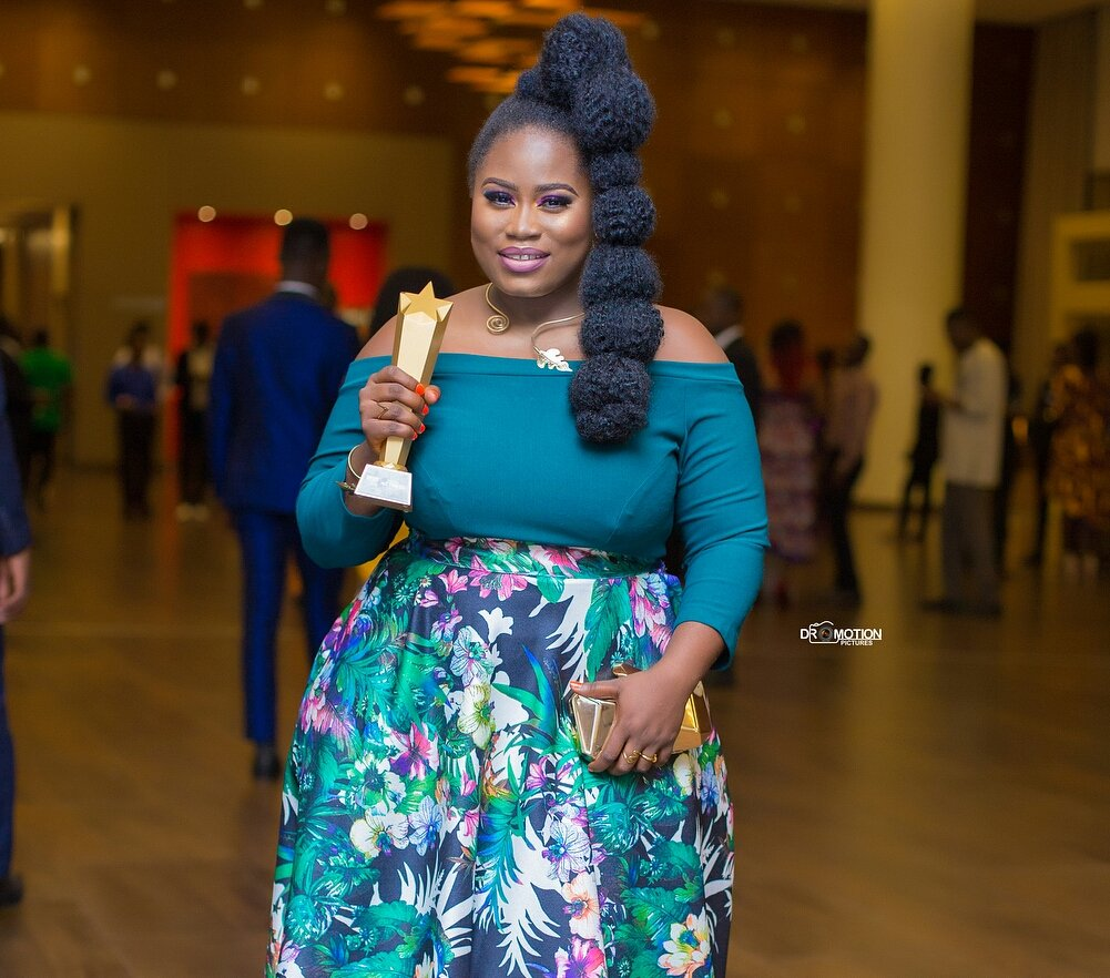 Lydia Forson Sets Record With Her Win As The Second Best Actress At 2018 GMAA
