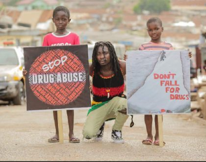 Abban Teams Up With Stonebwoy, Others For 'Say No To Drugs' Campaign