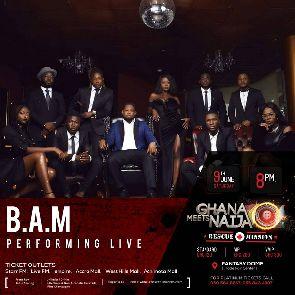 B.A.M All-Stars Join Ghana Meets Naija Concert Line Up