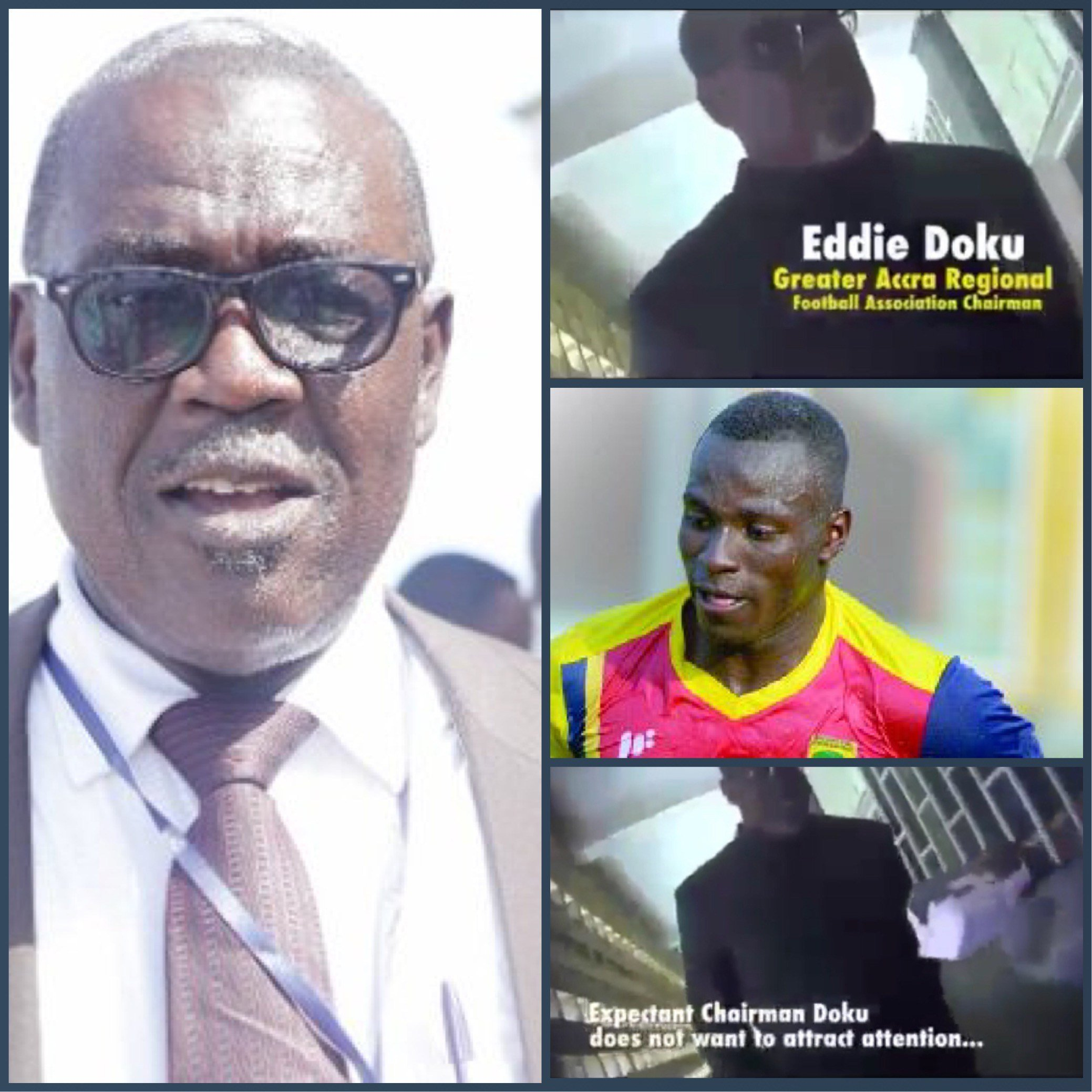 Anas Exposé: Watch How Gt Accra FA boss Was Caught On Camera Taking Bribe