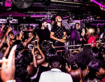 King Promise Thrills Fans At His Show In Germany(PHOTOS)