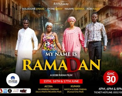 """My Name Is Ramadan"", Movie Which Features Stonebowy Shows In Accra And Kumasi This Weekend"
