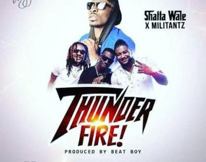 'Thunder Fire' New Hit From Shatta Wale Featuring SM Militants