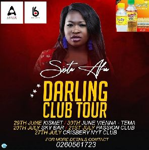 Sista Afia To Meet Slay Queens With Her 'Darling Club Tour'