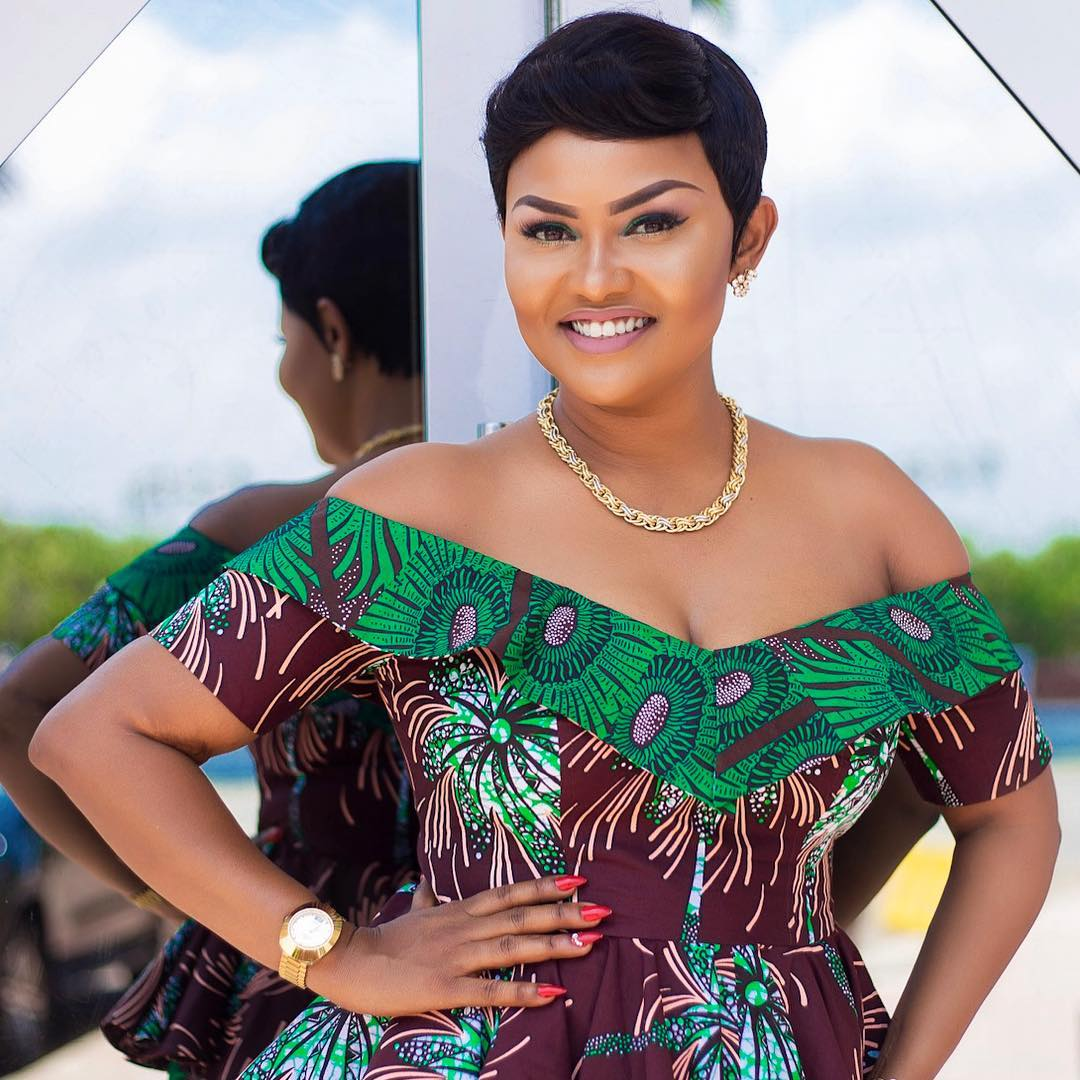 Image result for nana ama mcbrown in african print