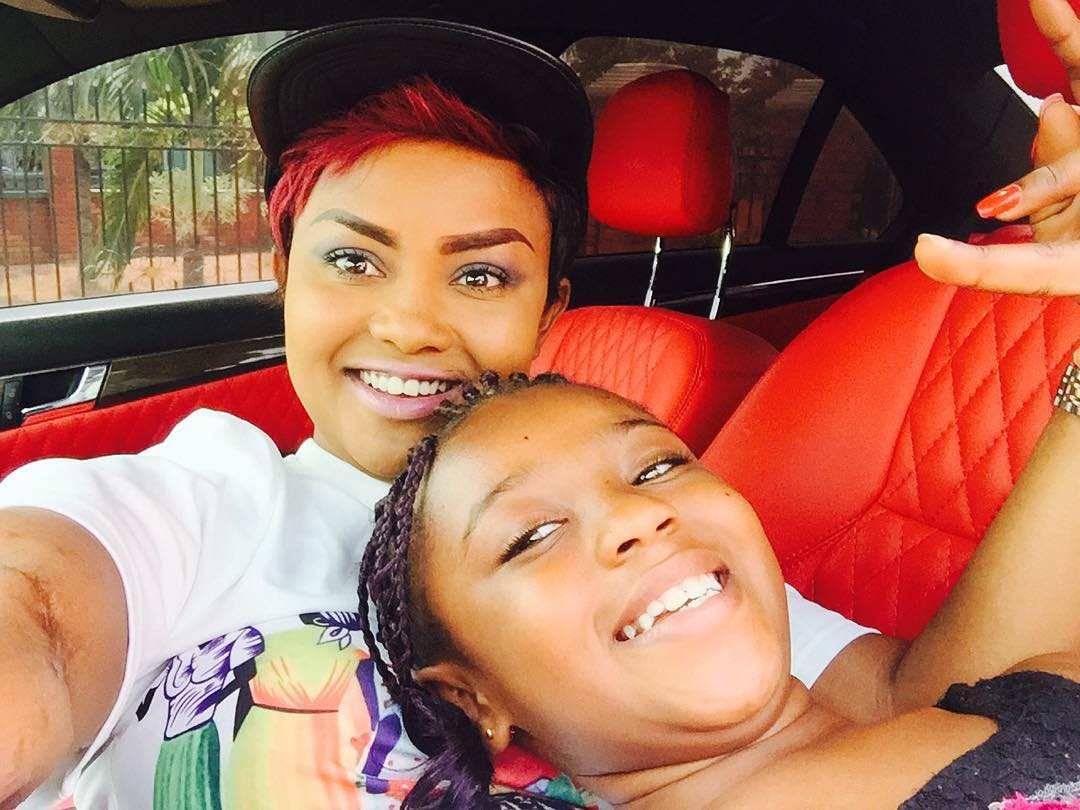 Nana Ama Mcbrown And Daughter