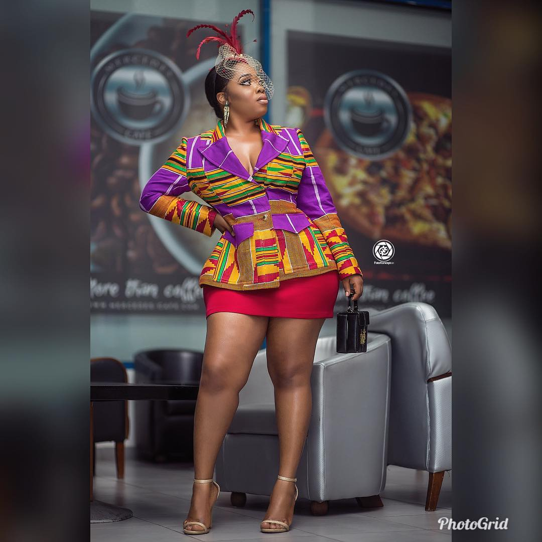 Blogger Fondles Moesha Budoung's Buttocks To Ascertain Its Veracity