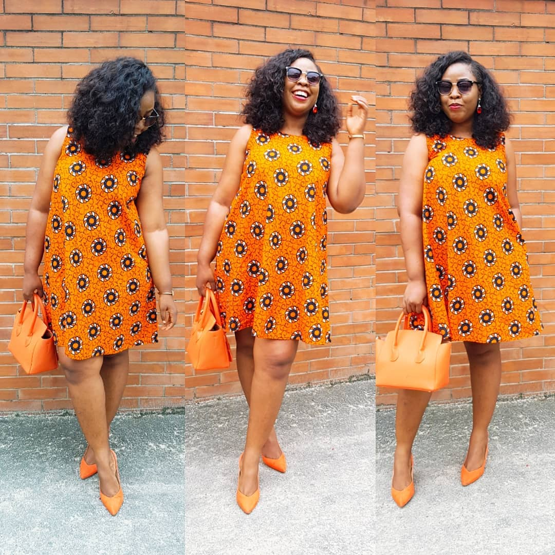 12 Lovely Ankara Short Gown Styles For A Wonderful Outing