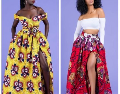 LADIES: 11 Thigh High Slit Ankara Dresses For Your Outing Pleasure(PHOTOS)