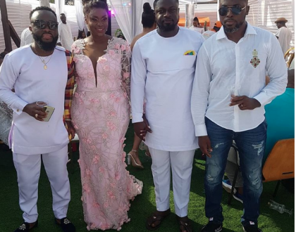 Celebrities Present At Bibi Bright's Wedding