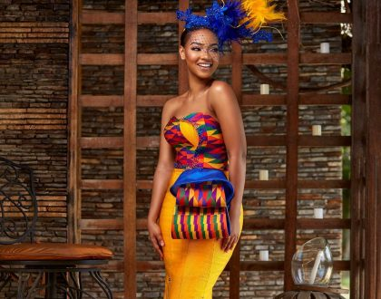Checkout These Beautiful Traditional Kente Collections By SHE By Bena(PHOTOS)