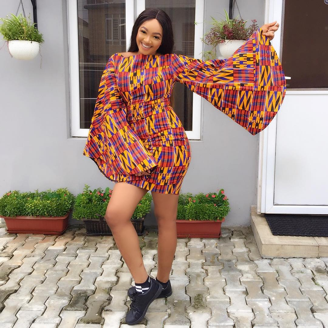 12 Lovely Ankara Short Gown Styles For A Wonderful Outingphotos