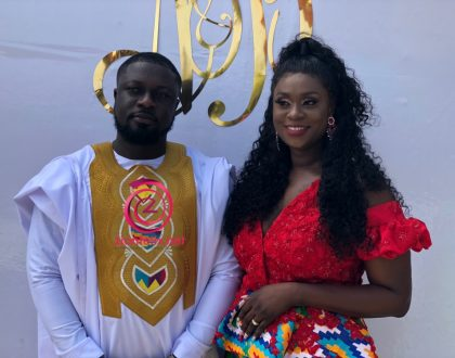 (Photos) Actress Bibi Bright Ties The Knot With Sweetheart
