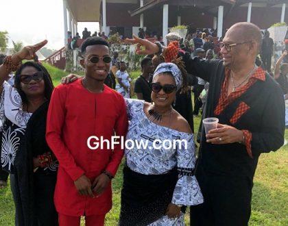 Ghanaian Celebrities Pay Last Respect To CK Mann