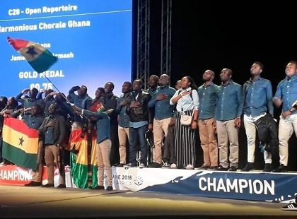 World Choir Games: Ghana's Harmonious Chorale Emerge Winners
