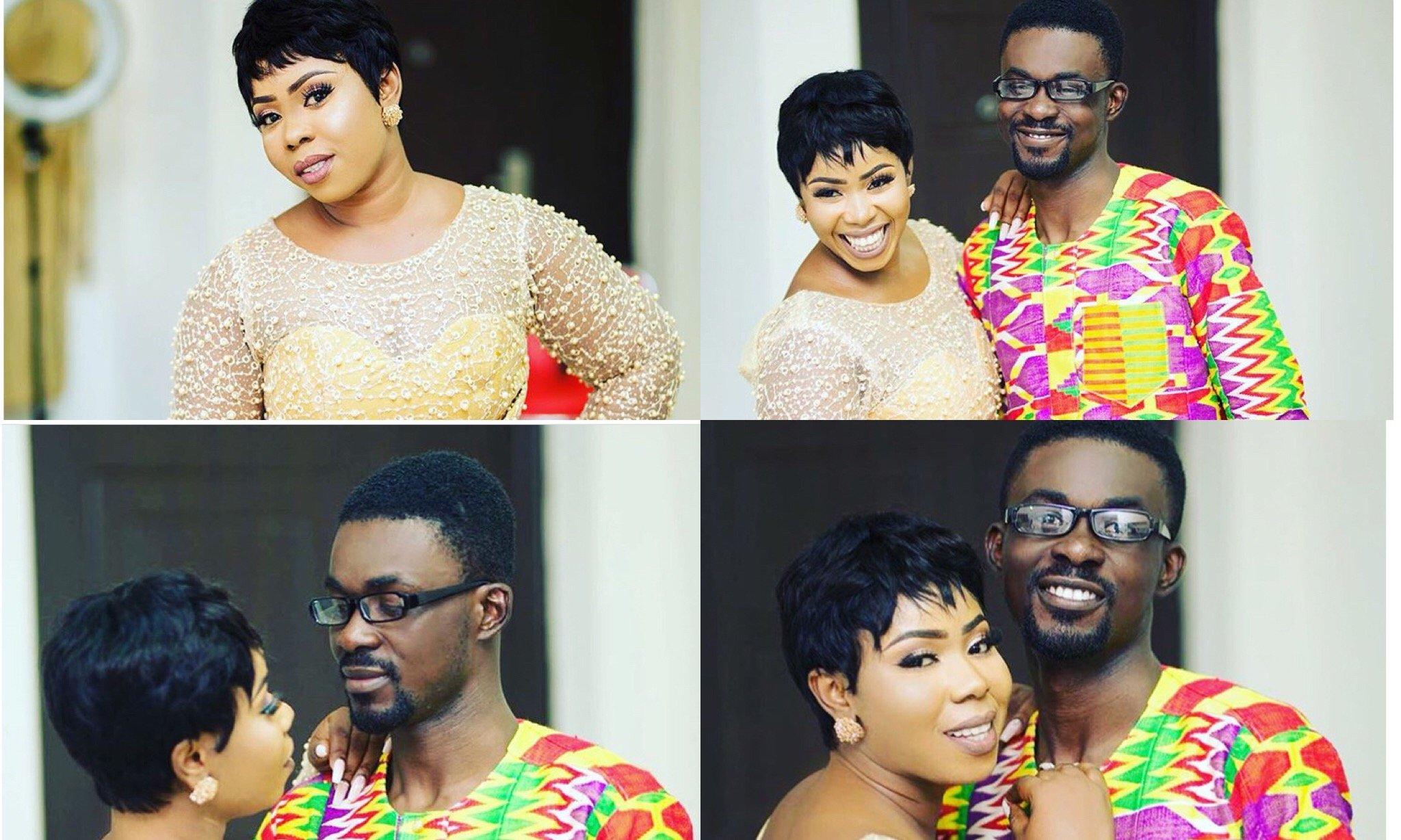 Nana Appiah Mensah Threw A Private Party For Wife, Rose Appiah Mensah