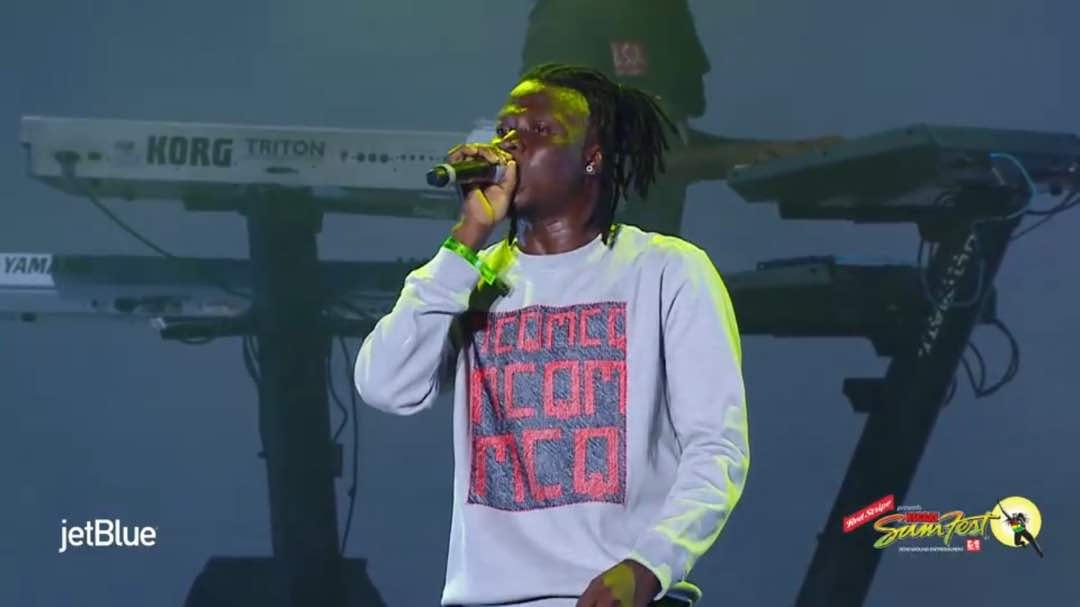 Photos Of Stonebwoy At Reggae Sumfest