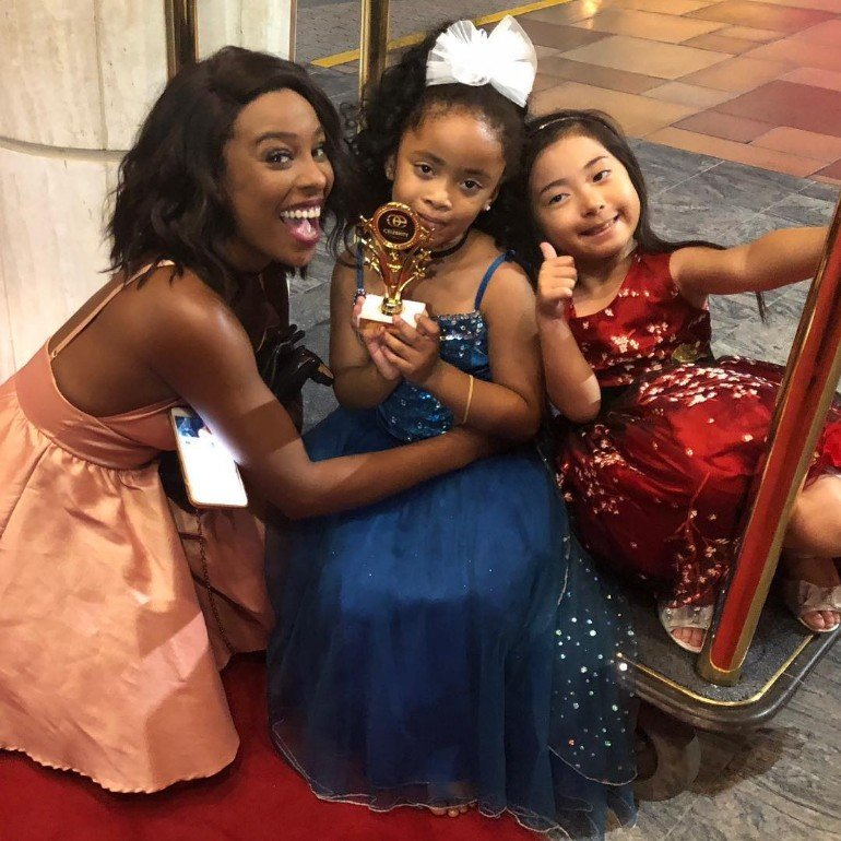 5-Year-Old Swiss-Ghanaian Actress Wins Hollywood Award