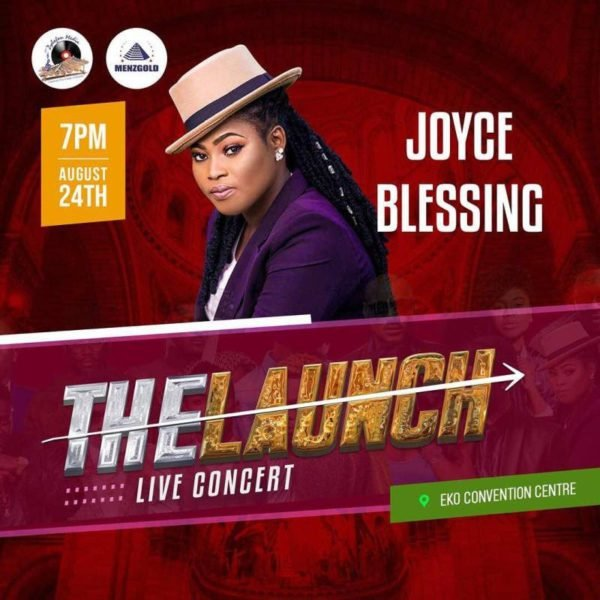 Joyce Blessing Set To Storm Nigeria on 24th August