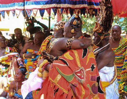 Asantehene, Otumfuo Osei Tutu II Made Histroic Visit To Kyebi