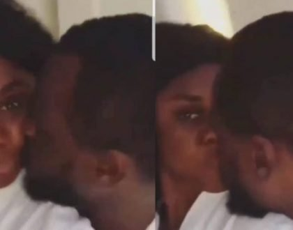 Becca Gets The Internet Buzzing With Video Of She And Her Husband Kissing