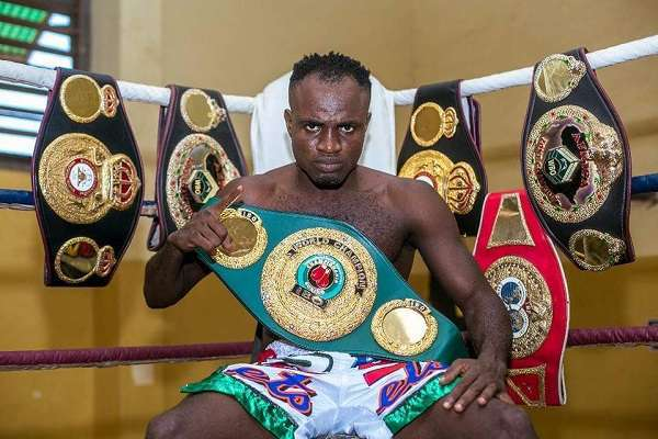 Ghanaian Boxer Emmanuel Tagoe Fathers Another Man's Child For 14 Years