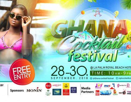Ghana Cocktail Festival 2018 kicks off September 28