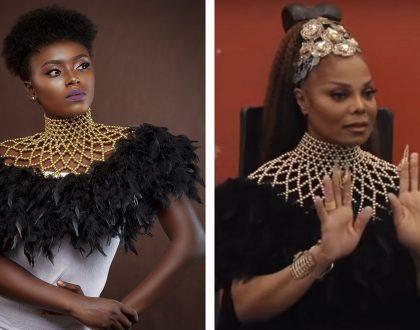 Ghanaian Designer Aphia Sakyi Styles Janet Jackson For New Video Shoot