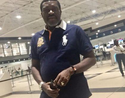 'Kudos Ghana' - Nollywood Star Kanayo O Kanayo Praises Kotoka Airport
