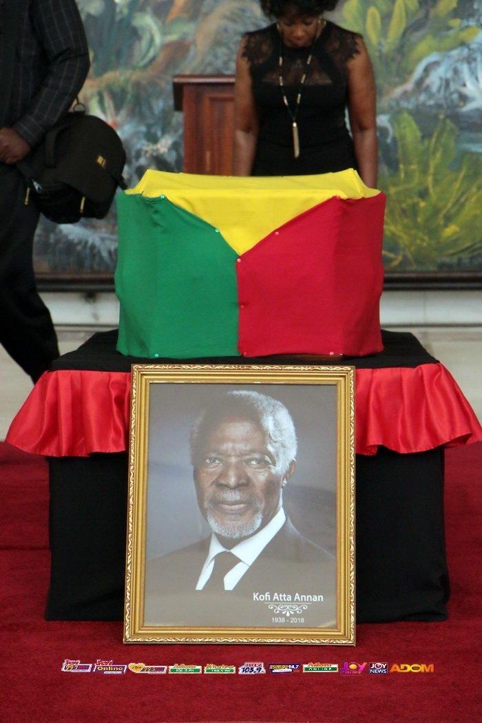 Ghanaians Pay Last Respect To Kofi Annan