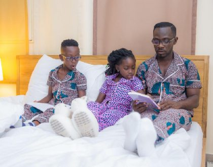 Okyeame Kwame To Launch New Collections Of Pyjamas Made From African Prints(PHOTOS)