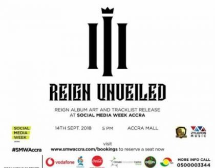 Shatta Wale To Unveil 'Reign' Album Cover & Track list Sept. 14 At Accra Mall