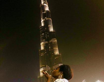 Lydia Forson Vacations In Dubai