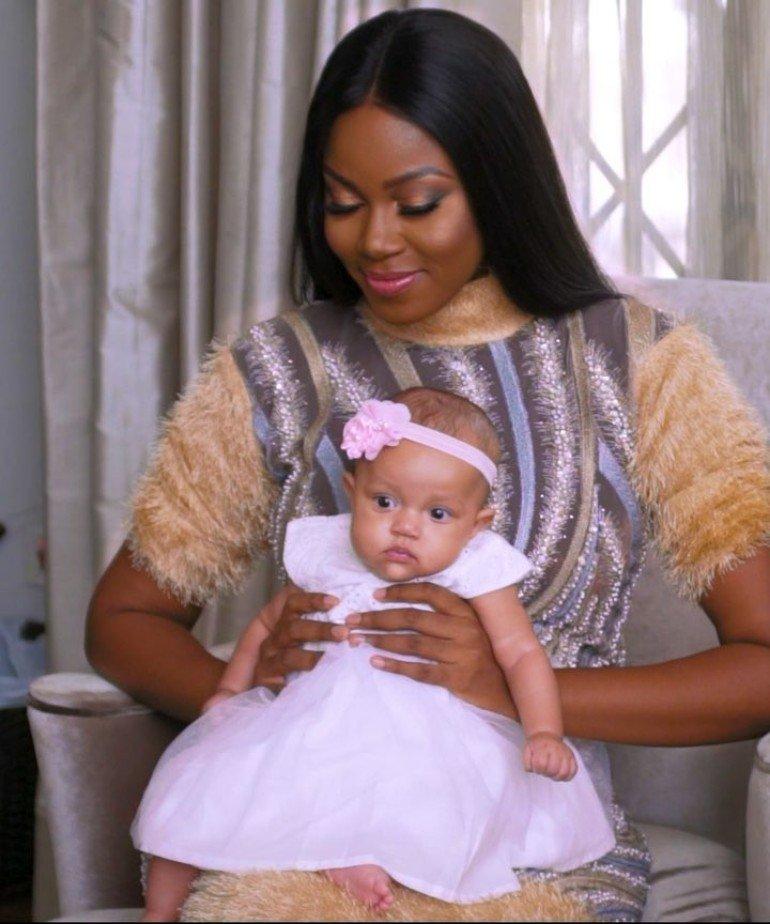 Yvonne Nelson Flaunts Baby Ryn On Social Media