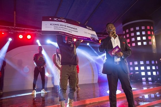 Bogo Blay Wins Vodafone Icons 'Rep Ur Hood' Edition