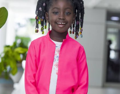 Okyeame Kwame's Daughter Launches Hairline For Children
