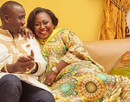 Gifty Anti, Nana Ansah Kwao IV Celebrate 3 Years Of Marriage