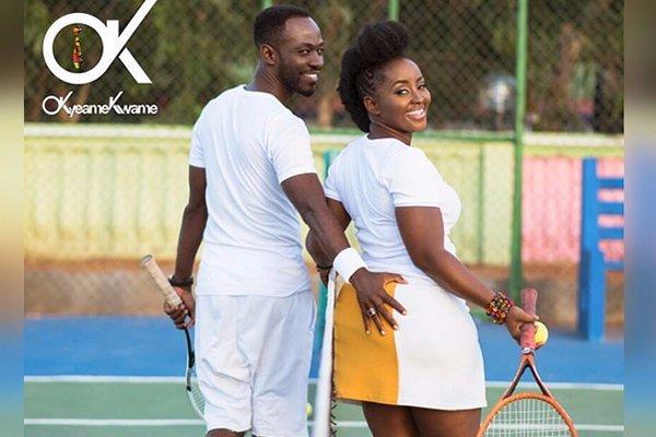 Okyeame Kwame Celebrates Wife's Birthday