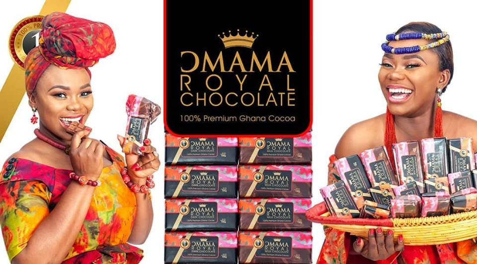 Akua GMB Unveiled As Ambassador For Omama Royal Chocolate