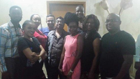Helen Omaboe, Fred Amugi, Adomaa, Others Shoot 'Telenovela' In India